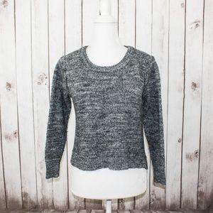 Haute Hippie Women's Cropped Sweater Gray